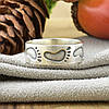 Серебряное кольцо След размер 20 ширина 6 мм вес 2.55 г , фото 4