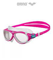 Детская и подростковая маска для плавания Arena OBL JR (Pink/Blue/White)