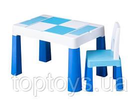 Набір меблів Tega Baby Multifun стіл і стілець блакитний (MF-001-120)