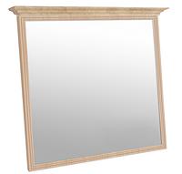 Зеркало в МДФ рамке с карнизом (декор) (610) МАКСИ-МЕбель Дуб сонома (9069)