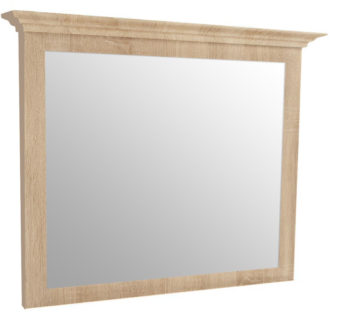 Зеркало в МДФ рамке с карнизом (профиль) (1010) МАКСИ-МЕбель Дуб сонома (9074)