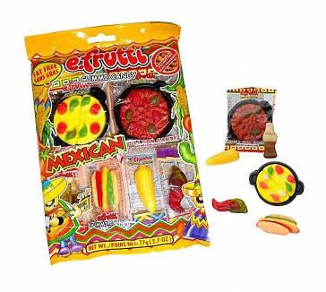 Жевательные конфеты Efrutti Gummi Mexican Dinner, 77 г, фото 2