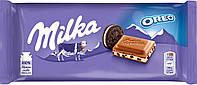 Шоколад молочный Milka Oreo 100г.
