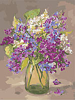 Картина по номерам ArtStory Разноцветная сирень 30*40см