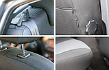 Чехлы в салон для Volkswagen Touran  с 2006-2010г модельные Prestige СТАНДАРТ (комплект), фото 5