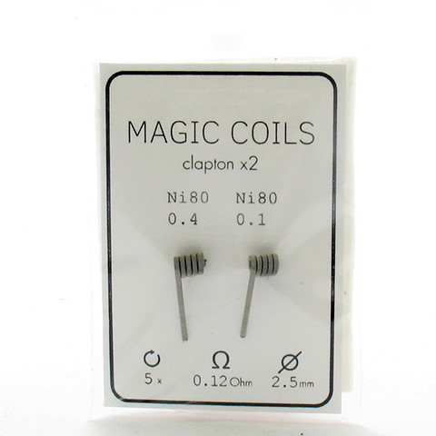 Комплект спиралей Magic Coils Fused Clapton №7 2 шт 0.12 Ом