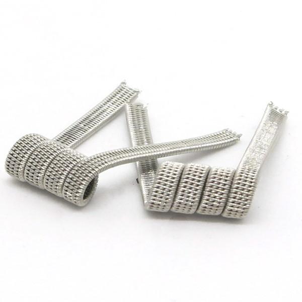 Комплект спиралей Hungry Coils Quatro Staggered Fused Clapton № 306 2 шт 0.12 Ом