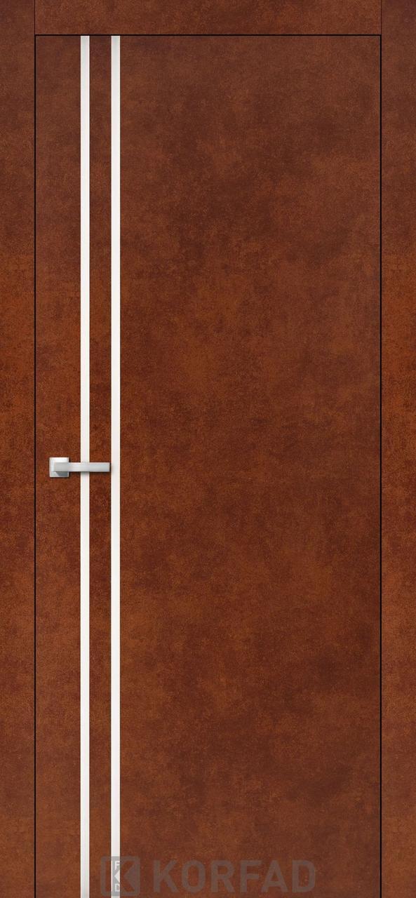 Міжкімнатні двері Aluminium Loft Plato-01 Korfad