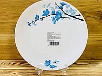 Тарелка стеклокерамическая 27 см Larah Plano Mimosa Borosil