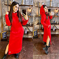 Теплое платье на флисе, фото 1