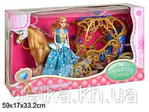 Карета с куклой и лошадкой  272A музыка