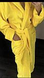 Халаты банные махровые с капюшоном, размеры L-XXXL Турция, фото 2