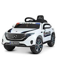 Електромобіль дитячий M 4519EBLR-1 Поліція, білий, фото 1