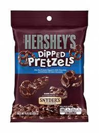 Конфеты Hershey's Milk Chocolate Dipped Pretzels, 120 г