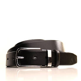 Ремень кожаный Lazar 120-125 см черный l30u1w4-1