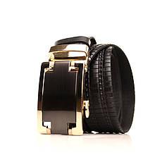 Ремень кожаный Lazar 120-125 см черный l35u1a158, фото 2