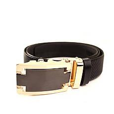 Ремень кожаный Lazar 120-125 см черный l35u1a161, фото 3