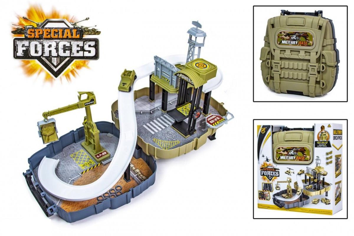 Детский игровой военный набор в чемодане Special Forces P865-A