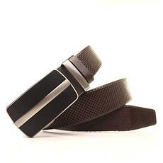 Ремень кожаный Lazar 120-125 см коричневый l35y1a36, фото 3