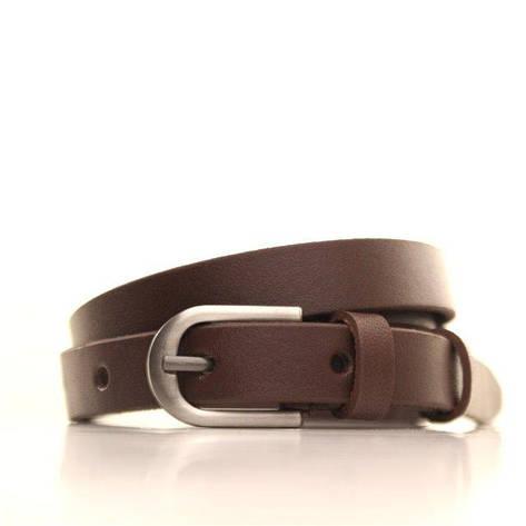 Ремень кожаный Lazar 120-125 см черный l15y0w5, фото 2