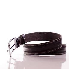 Ремень кожаный Lazar 105-110 см коричневый Л35С1Ш45, фото 3