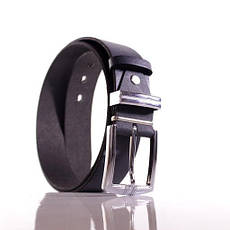 Ремень кожаный Lazar 105-110 см серый Л35С1Ш71, фото 3