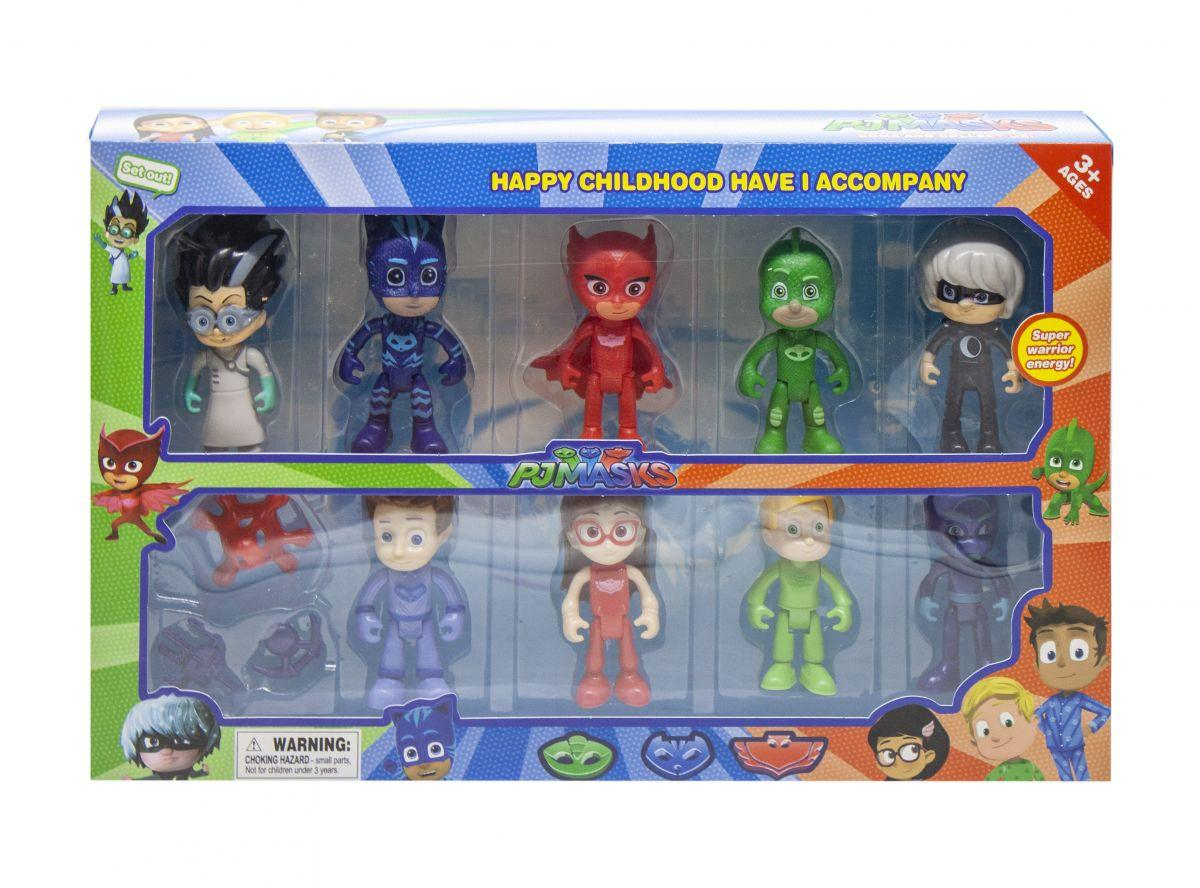 Детский игровой набор с фигурками Героев в масках W8112