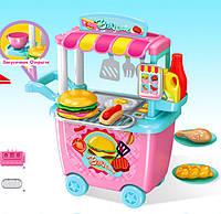 Игровой набор Детская Закусочная с тележкой 678-201A, фото 1