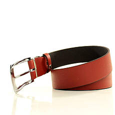Ремень кожаный Lazar 105-110 см красный L35S1W5, фото 2