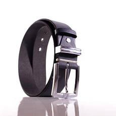 Ремень кожаный Lazar 110-115 см серый Л35С1Ш71, фото 3