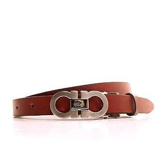 Ремень кожаный Lazar 105-115 см красный L20S0G30, фото 2