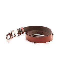 Ремень кожаный Lazar 105-115 см красный L20S0G30, фото 3