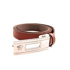Ремень кожаный Lazar 105-115 см красный L20S0G32, фото 2