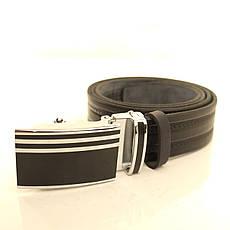 Ремень кожаный Lazar 105-115 см коричневый l35u1a144, фото 2