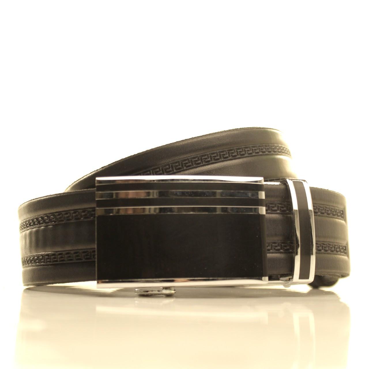 Ремень кожаный Lazar 120-125 см коричневый l35u1a144
