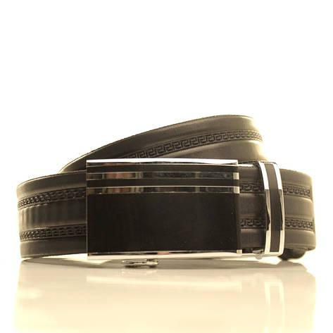 Ремень кожаный Lazar 120-125 см коричневый l35u1a144, фото 2
