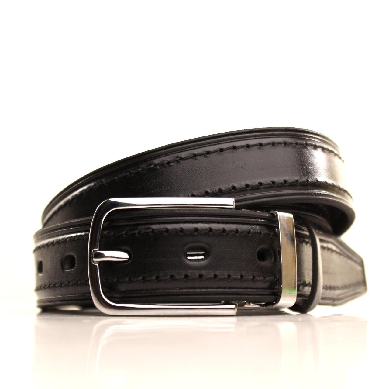 Ремень кожаный Lazar 105-115 см черный l30u1w5-1
