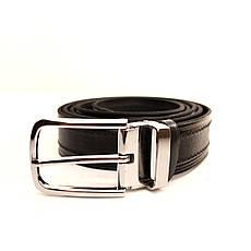 Ремень кожаный Lazar 105-115 см черный l30u1w5-1, фото 2