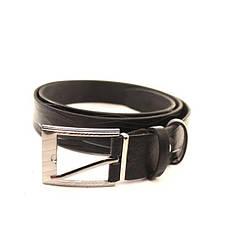 Ремень кожаный Lazar 120-125 см черный l30u1w12, фото 2