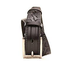 Ремень кожаный Lazar 70-80 см черный l30u3w7, фото 2