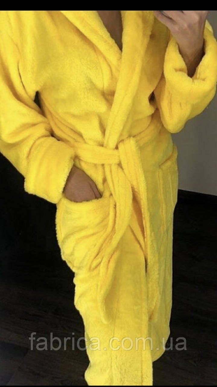 Халаты банные махровые с капюшоном, размеры L-XXXL Турция