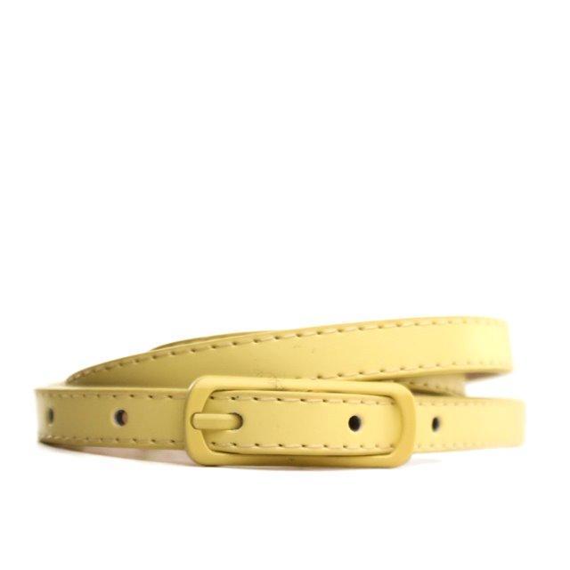 Ремень Lazar 105-110 см желтый L1210W3