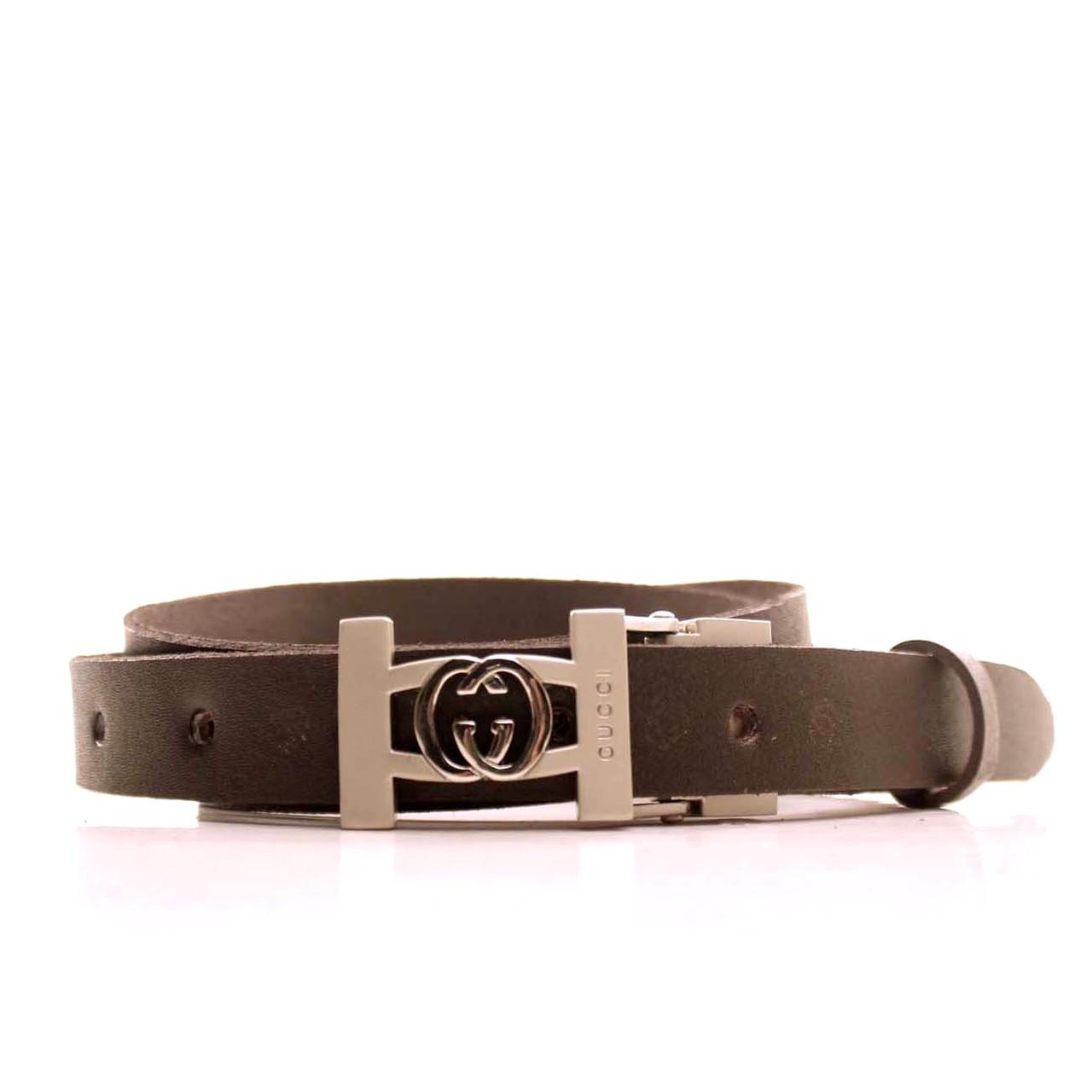 Ремень кожаный Lazar 120-125 см черный L20S0G39
