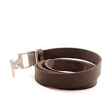 Ремень кожаный Lazar 120-125 см черный L20S0G39, фото 3