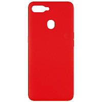 Чохол Silicone Cover Full without Logo (A) для Oppo A5s / Oppo A12 Червоний / Red