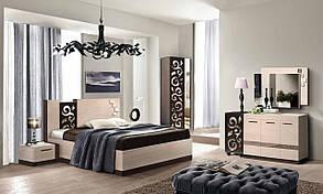 """Модульна спальня """"Сага"""" від Мастер форм"""