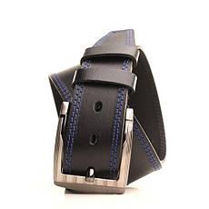 Ремень кожаный Lazar 105-115 см черный L45Y1W2, фото 2