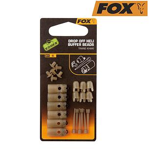 Набор клипс Fox Edges Drop-off Hell Buffer Bead (6шт), фото 2