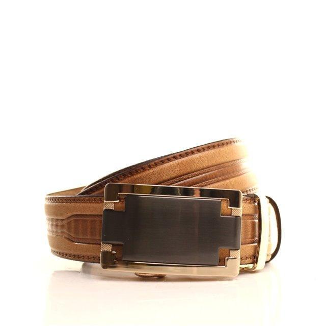 Ремень кожаный Lazar 105-115 см оранжевый l35y1a49