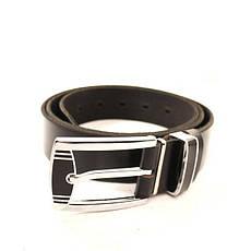 Ремень кожаный Lazar 105-110 см черный l35b1w6, фото 2